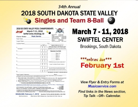 2018 SD State Valley Pool Championships