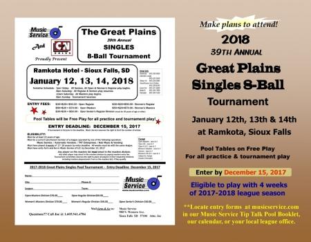 011218 Great Plains Singles 8-Ball