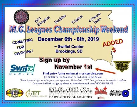 MG Leagues Championship Wknd 2019