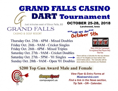 Grand Falls Casino Tournament 102518