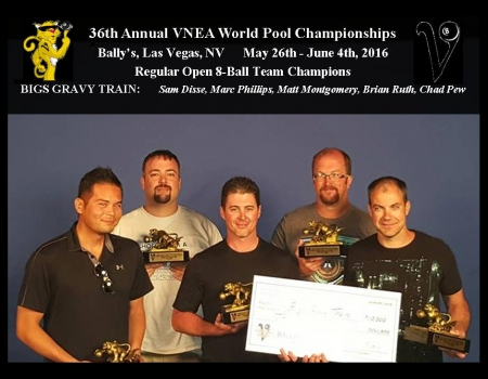 2016 VNEA World Champions - Open Regular Team