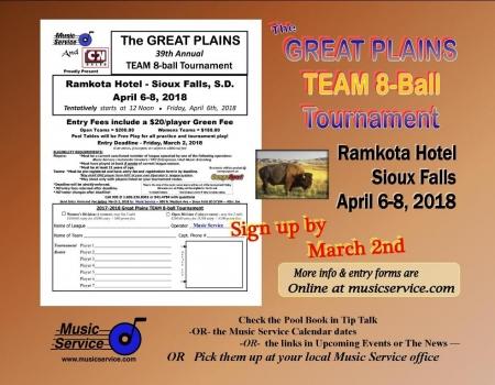 2018 Great Plains TEAM 8-Ball