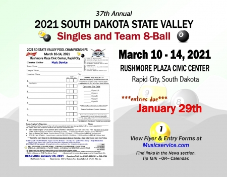 2021 SD State Valley Pool Championships