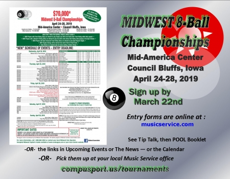 Midwest 8-Ball Championships - 2019
