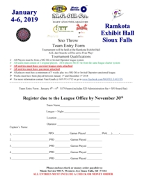 2019.1-4.Sno Throw TEAM Dart Entry Form204x264