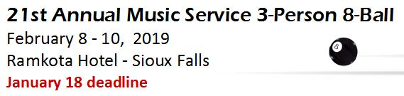 2019.2-8.Music Service 3-Person date and deadline