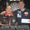 2015 SD STATE DART DOUBLES